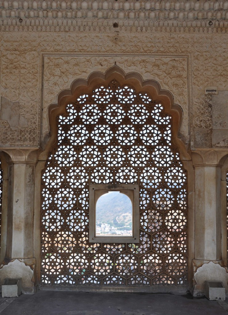 Window Detail Amber Fort