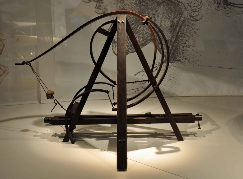 Da Vinci Weapons, Science Museum