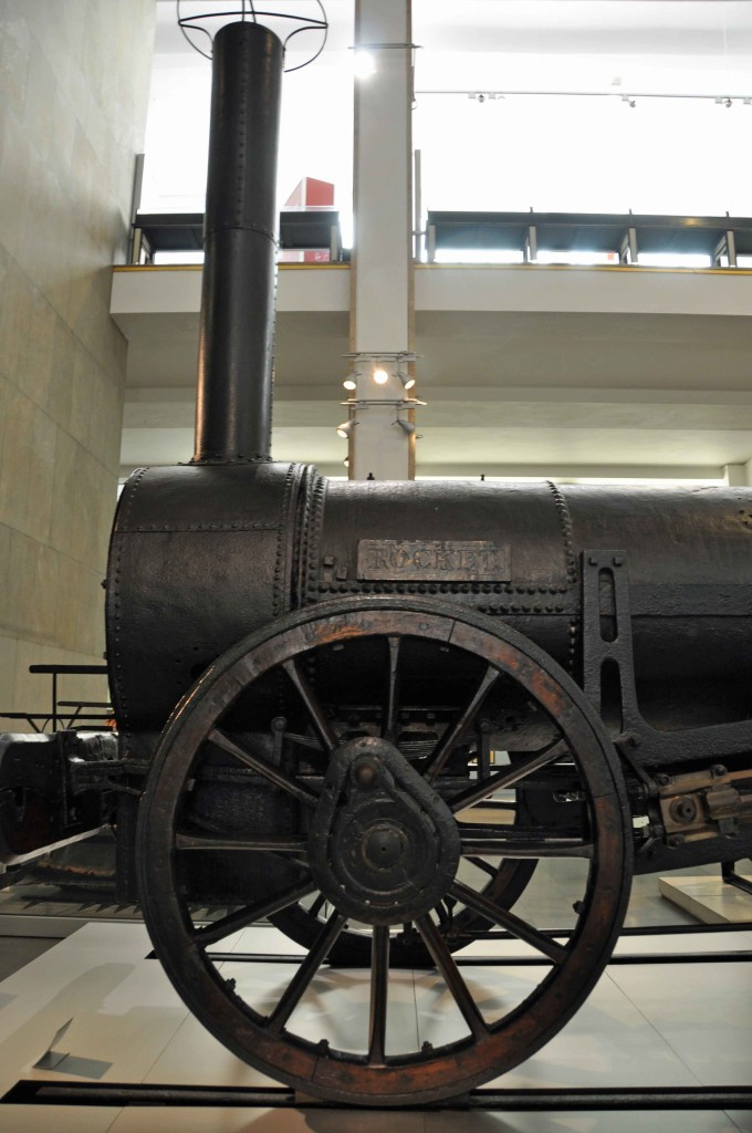Stephenson's Rocket. Science Museum