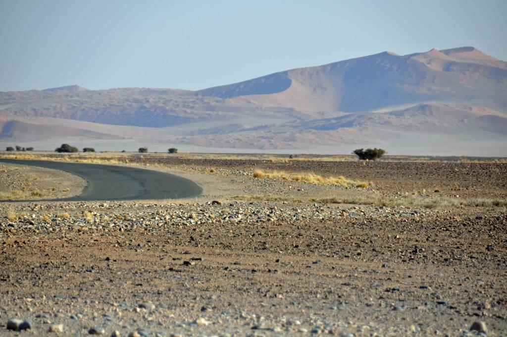 Road to Sossusvlei