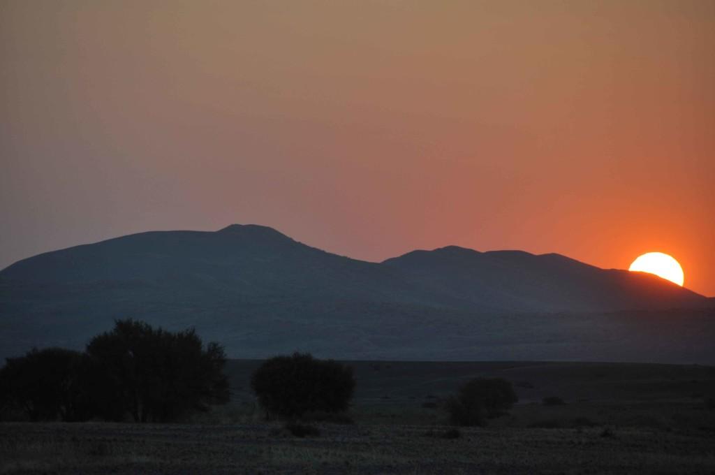 Sossusvlei, sunset