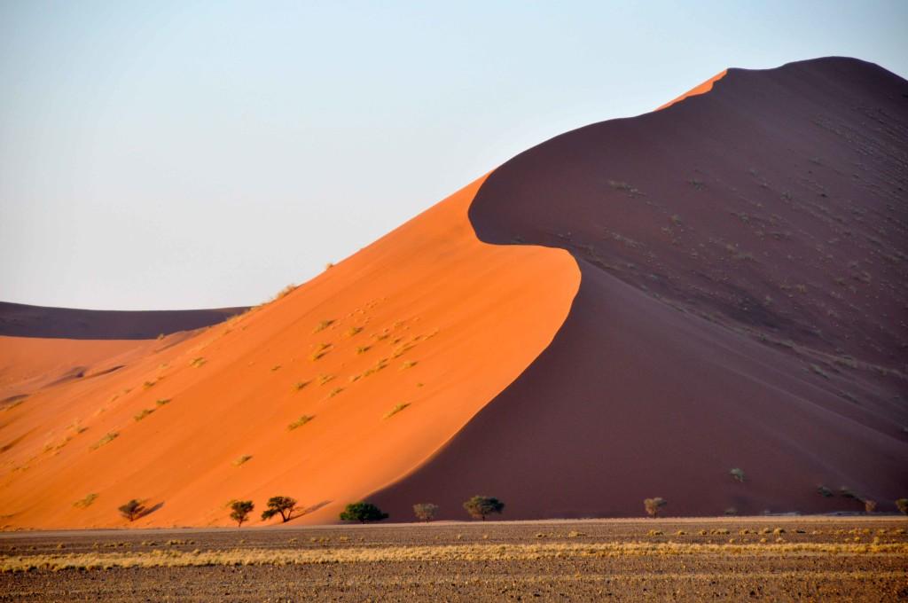 Sossusvlei, orange desert