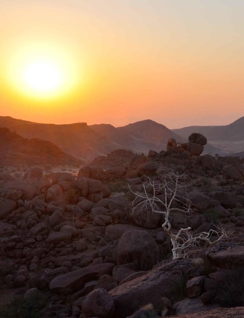 Sunset Damaraland
