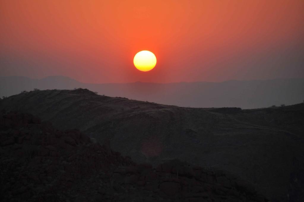 Sunset Mowani Camp