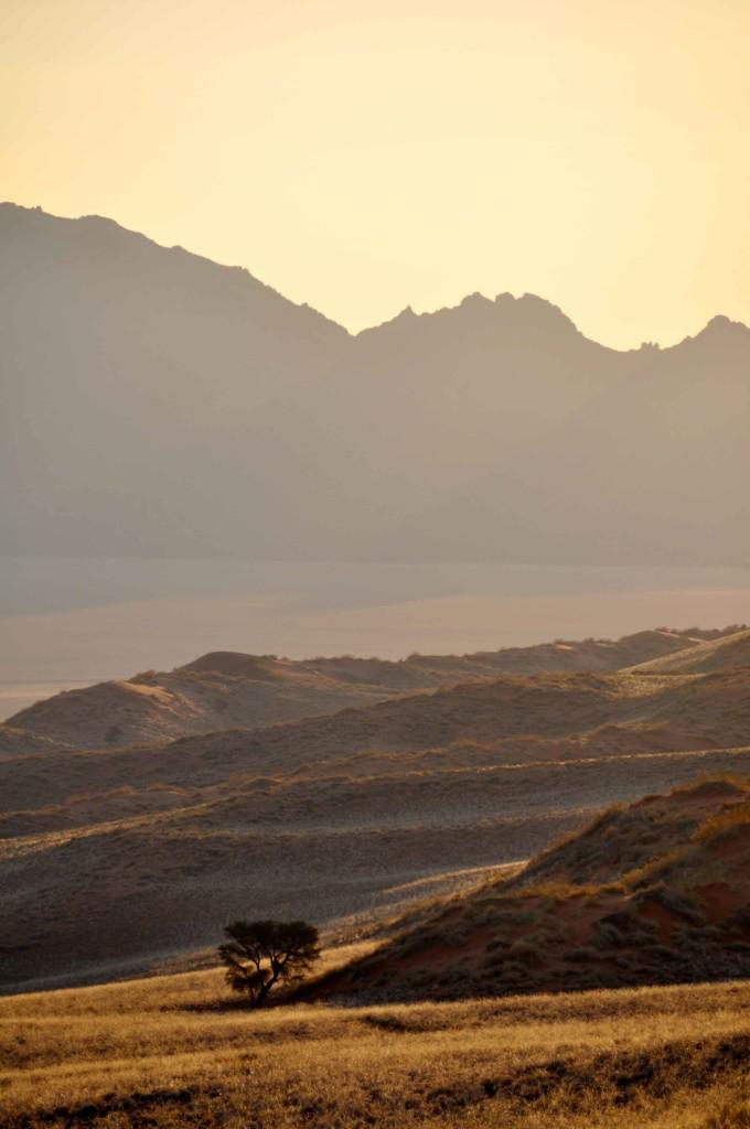 Sunset Namib Naukluft